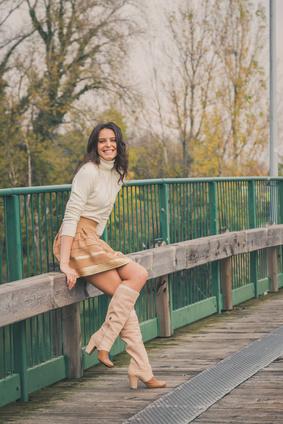 Miniröcke in Young Fashion Stil