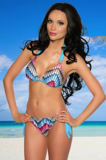 Retro Push-Up Bikini 12003