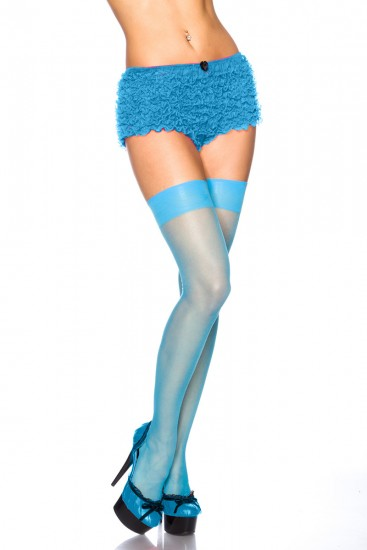 Stockings blau