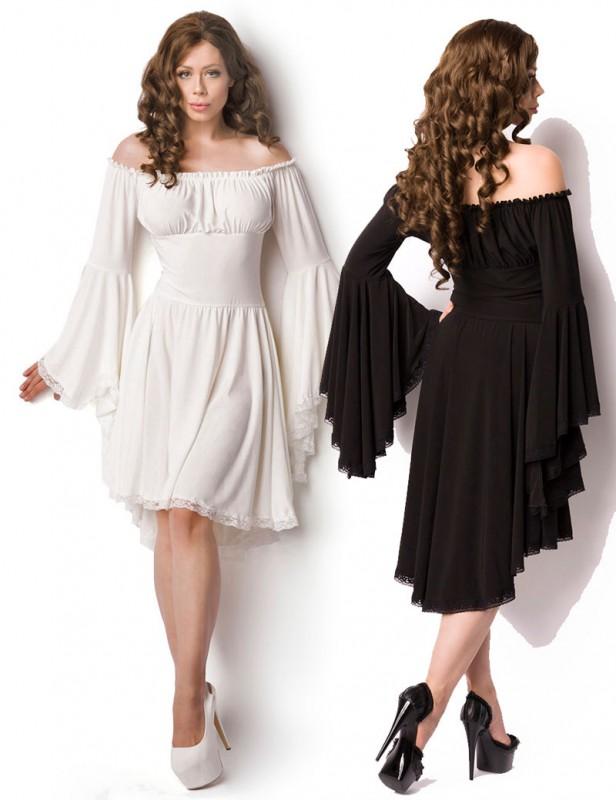 Kleid lang carmen aubchnitt
