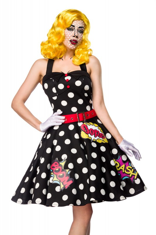 pop art girl kost m set kleidung onlineshop