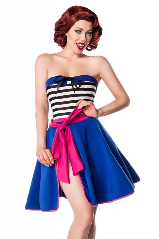 Wickelrock in blau/ pink