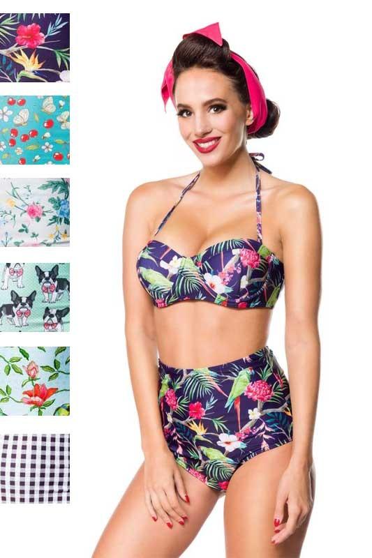 8bf0971b6aee8a modische Bikini-Hose in Vintage Stil von Marke Belsira