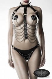 erotisches Harness-Set in Ledero...
