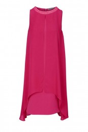 Designer-Cocktailkleid in pink v...