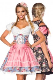 Unterbrust-Dirndl in Denim Quali...
